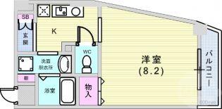 兵庫県神戸市灘区千旦通2丁目の賃貸マンションの間取り