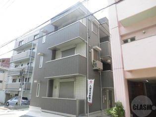 兵庫県神戸市東灘区本山北町3丁目の賃貸アパートの外観