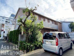 東京都目黒区緑が丘3丁目の賃貸アパート