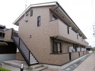 岡山県倉敷市中畝2丁目の賃貸アパートの外観