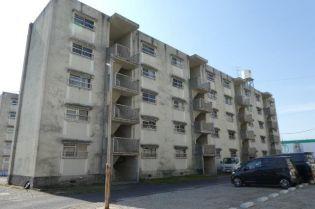 岡山県倉敷市真備町有井の賃貸マンションの外観