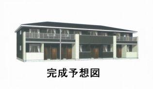 岡山県総社市中央4丁目の賃貸アパート