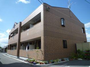 岡山県倉敷市中庄の賃貸アパート