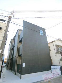 大阪府大阪市東住吉区鷹合3丁目の賃貸アパートの外観