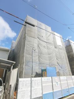 大阪府大阪市東住吉区西今川2丁目の賃貸アパートの外観