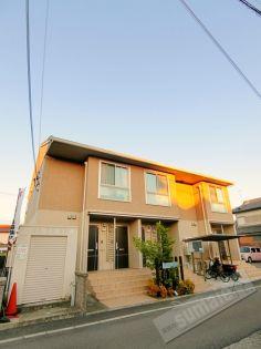和歌山県和歌山市六十谷の賃貸アパート