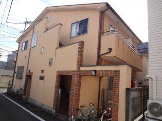 東京都八王子市明神町2丁目の賃貸アパートの外観