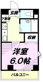 A1ビル[3階]の間取り