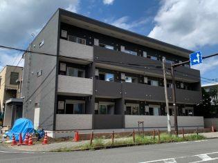 東京都青梅市河辺町10丁目の賃貸アパートの外観
