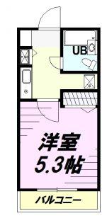 ジョイフル日野第2[103号室]の間取り