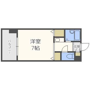 ル・シェル福島[2階]の外観
