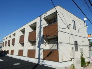 東京都八王子市大塚の賃貸アパートの外観
