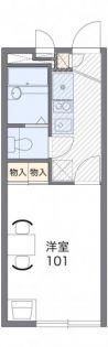 レオパレスメイフラワー[2階]の間取り