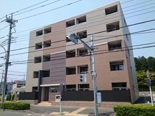 東京都八王子市堀之内の賃貸マンションの外観