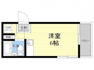 村井方[1階]の間取り