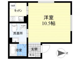 エアリアル錦糸町[4階]の間取り