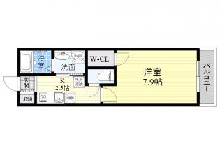 東京都練馬区関町東2丁目の賃貸アパートの間取り