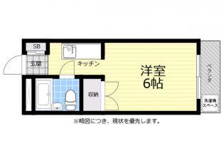 ロイヤルハイツ鬼沢[2階]の間取り