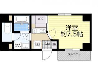 ルネサンスコート錦糸町[6階]の間取り