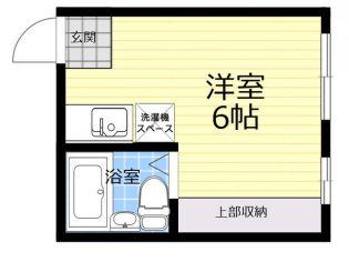 ホームタウン上高田[1階]の間取り