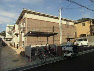 兵庫県西宮市小曽根町2丁目の賃貸アパートの外観