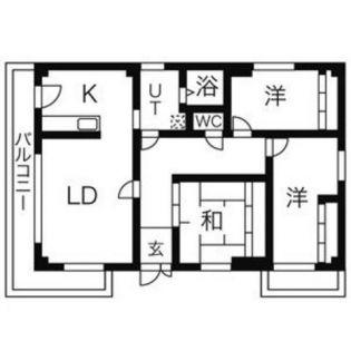 deuxieme SAWADA(ドゥジェームサワダ)[3階]の間取り