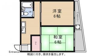 三澤ハイツ[2階]の間取り