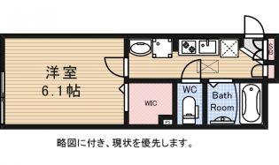 東京都世田谷区粕谷4丁目の賃貸アパートの間取り