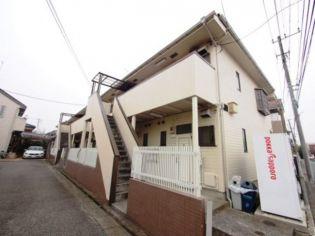 武蔵野コーポラスA棟[202号室]の外観