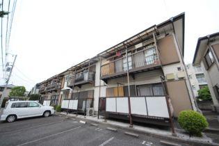 東京都中野区白鷺2丁目の賃貸アパートの外観