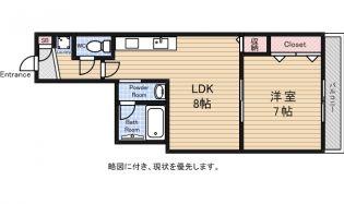 コンフォール武蔵野[3階]の間取り