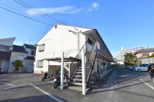 大阪府羽曳野市碓井1丁目の賃貸アパートの外観