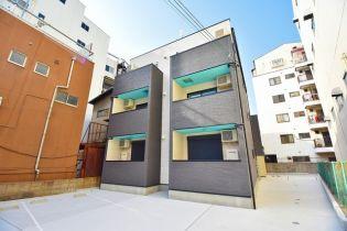 大阪府東大阪市岸田堂西2丁目の賃貸アパートの外観
