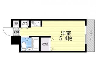 プラティーク荻窪[1階]の間取り