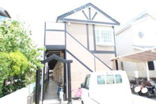 奈良県大和高田市田井新町の賃貸アパートの外観