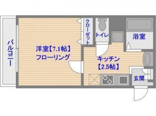 第16川崎ビル[4階]の間取り