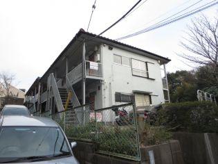 第六田中荘[1階]の外観
