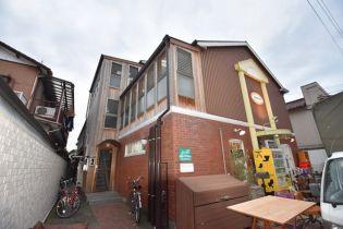 東京都世田谷区千歳台2丁目の賃貸アパートの外観
