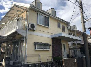 東京都武蔵野市境南町2丁目の賃貸アパートの外観