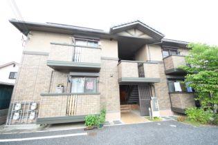奈良県大和高田市大字築山の賃貸アパートの外観