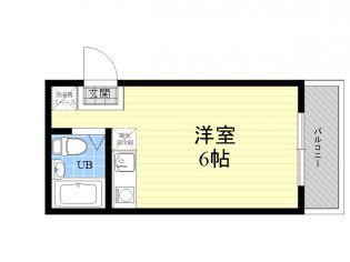 宇野マンション[3階]の間取り