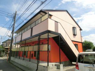 東京都三鷹市新川2丁目の賃貸アパートの外観