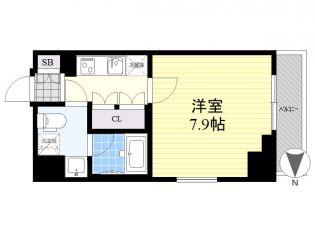 クレヴィスタ亀戸3[9階]の間取り