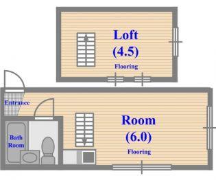 藤パレス井の頭B号館[1階]の間取り