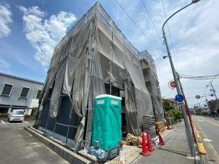 大阪府池田市荘園2丁目の賃貸アパートの外観