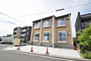 愛知県海部郡蟹江町桜1丁目の賃貸アパートの外観