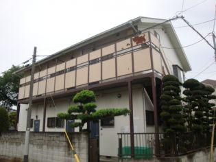 東京都小金井市桜町2丁目の賃貸アパートの外観