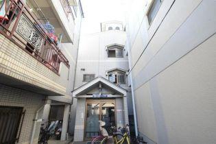 ピースハイツA棟[1階]の外観