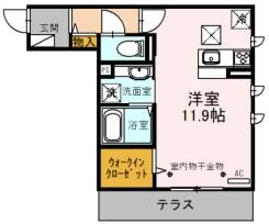 埼玉県川越市岸町2丁目の賃貸アパート