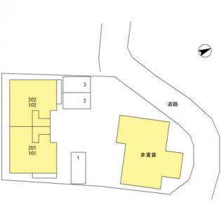 埼玉県和光市白子3丁目の賃貸アパート
